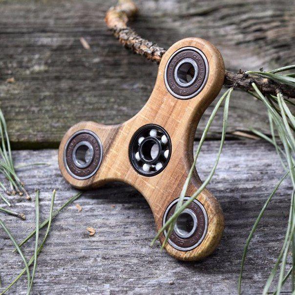 Wooden Fid Tri Spinner Fid Spinner DIY Hand Spinner Etsy