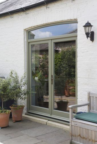 French Doors And Toplight French Doors Exterior French Doors Patio Glass Doors Patio