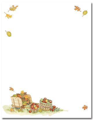 Harvest Apples Paper ---m Scrapbook paper
