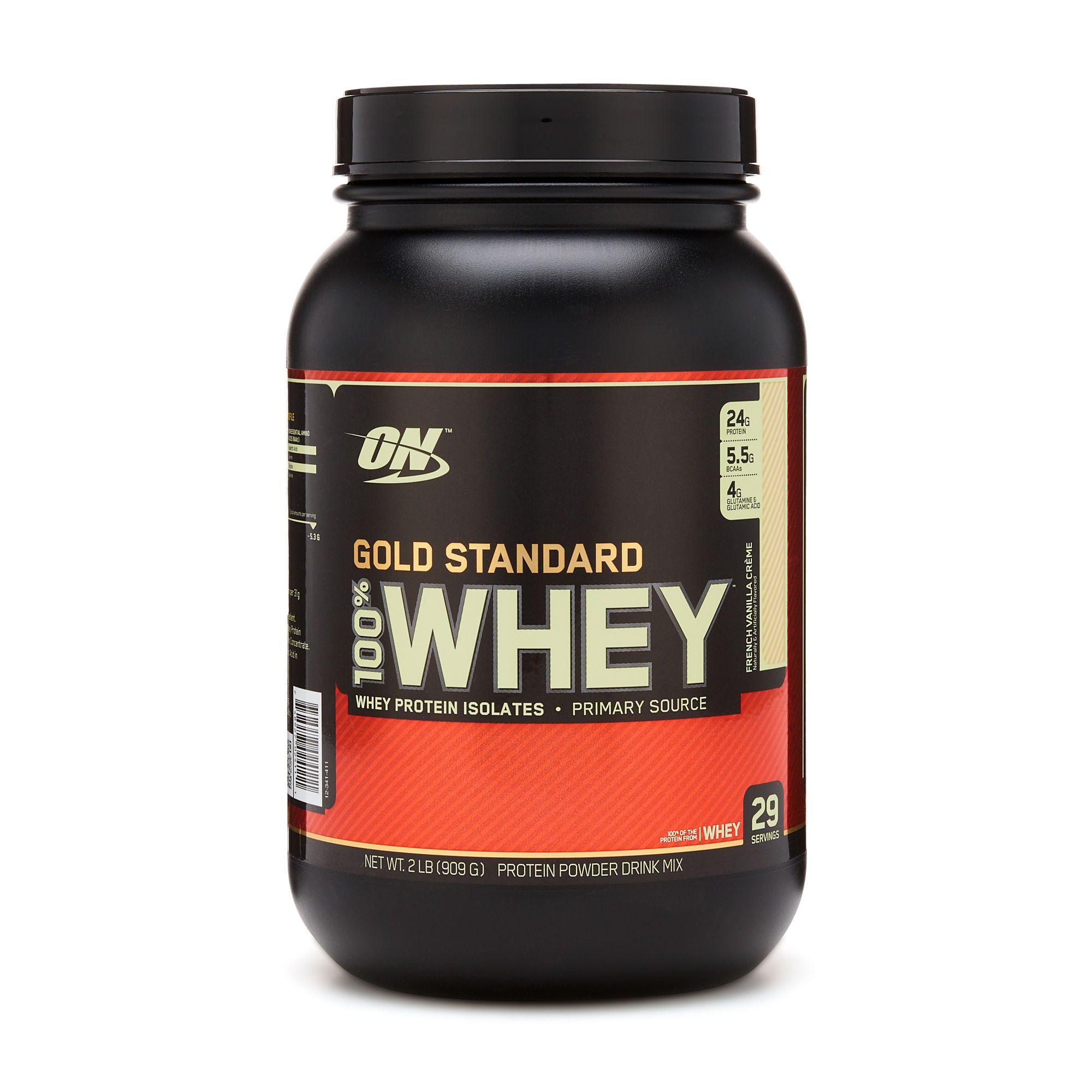 Gold Standard 100 Whey French Vanilla Creme Gold Standard Whey Gold Standard Whey Protein Optimum Nutrition Gold Standard
