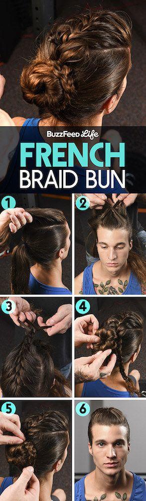 This French Braid Bun Is So Damn Pretty It Hurts #braidedbuns