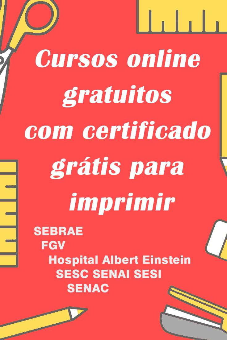 Pin Em Cursos Online Gratuitos