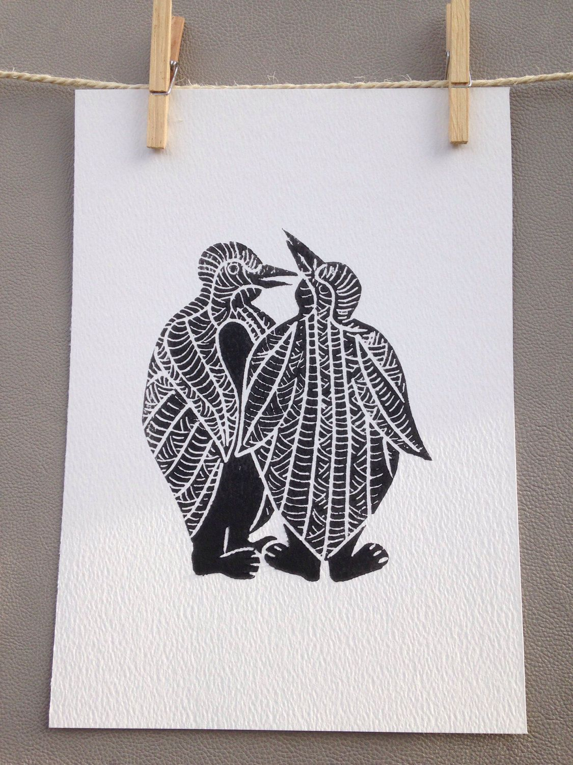 A personal favourite from my Etsy shop https://www.etsy.com/uk/listing/517647229/lino-print-limited-edition-a4-linocut