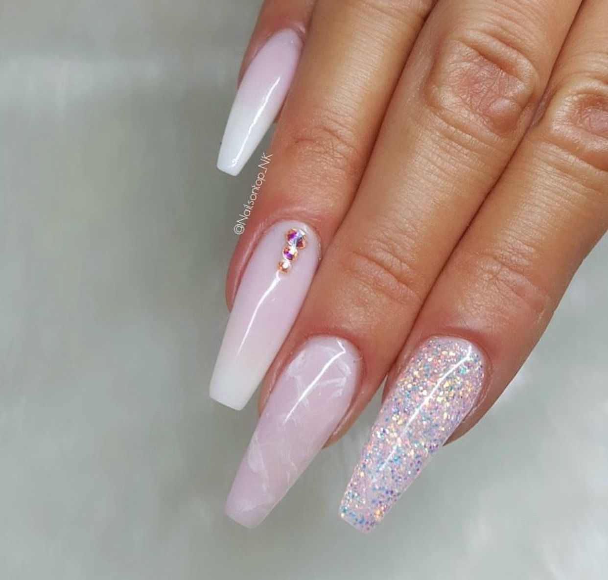 nailsontop @Hair,Nails,And Style  Cute nail art, Acrylic nail