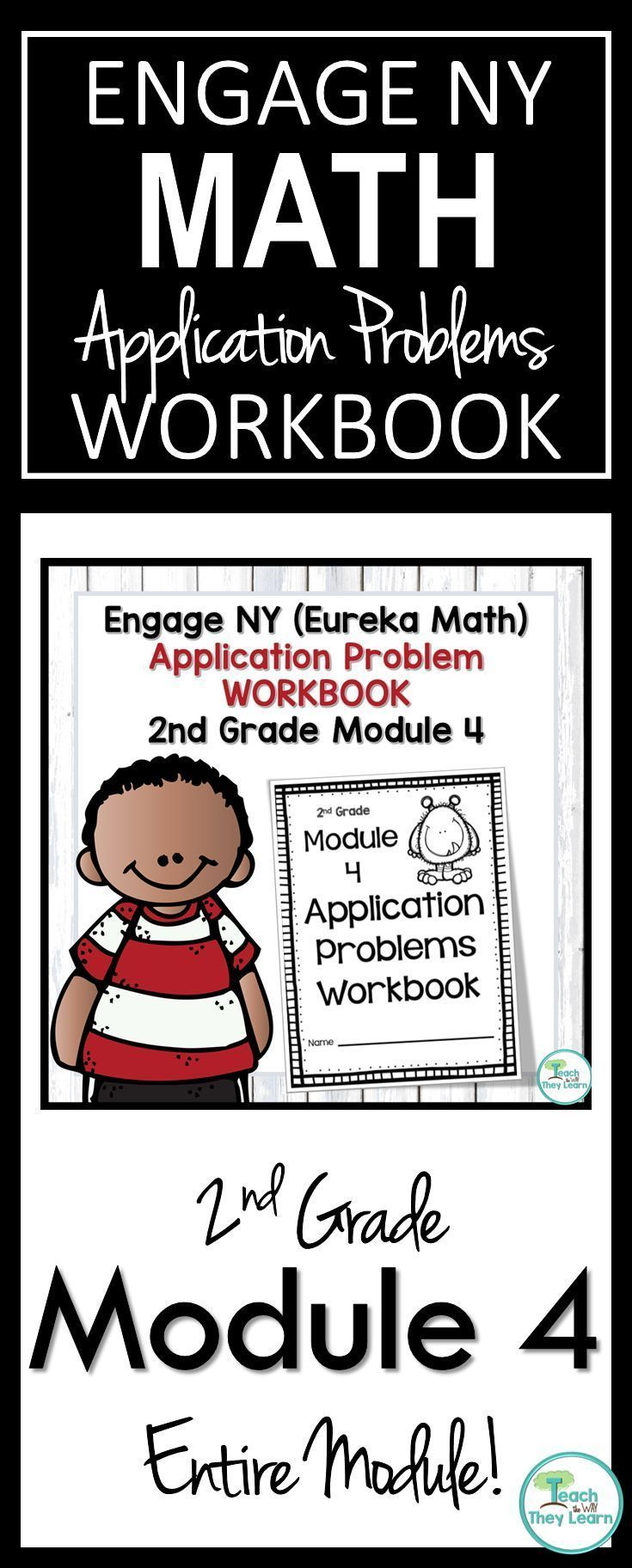 Engage NY/Eureka Math Application Problem Workbook 2nd Grade Module ...