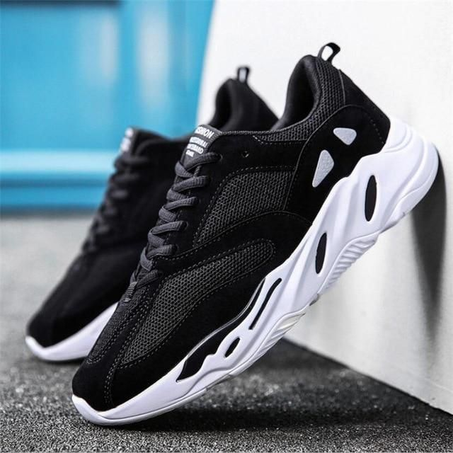 Vintage dad Men shoes 2018 kanye west fashion mesh light breathable men casual shoes men sneakers zapatos hombre#700