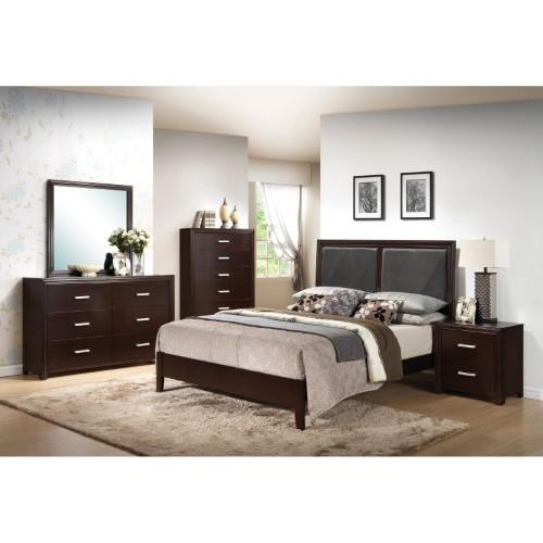 Acme Furniture Ajay Panel Bed Diseno Recamara Muebles Sala Y