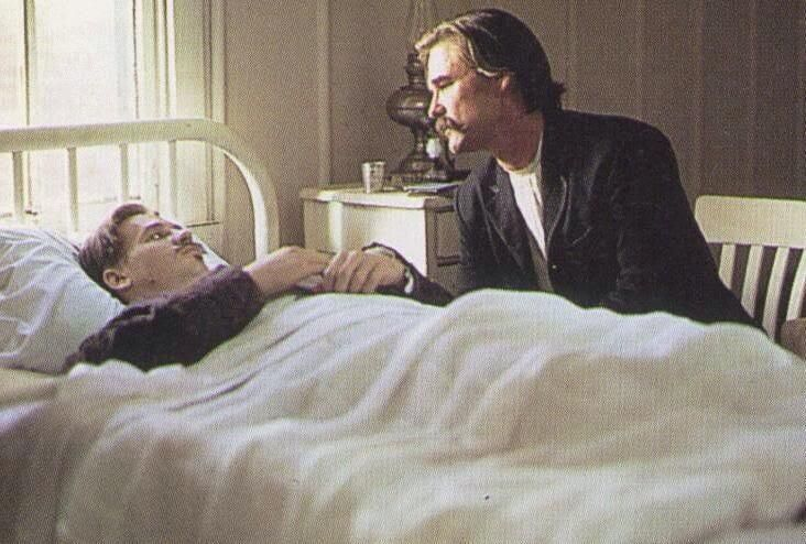 When I Died In Tombstone I Laid On A Bed Of Ice So I Would Shake
