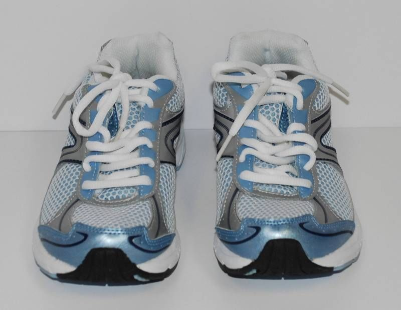 ba6bee379d84 C9 Women s Athletic Running SHOES Champion Duo Dry US SIZE 6 Silver Blue  NEW  Champion  RunningCrossTraining
