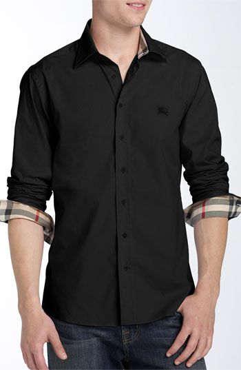 Burberry Brit Classic Fit Poplin Sport Shirt   Nordstrom   For my ... d1288d07d9d