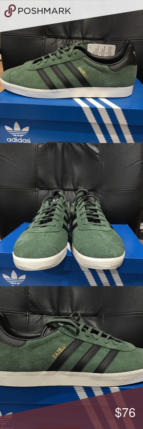 Gli Uomini È Adidas Sz Originali Gazzella Scarpe Verdi Sz Adidas 13 Nwt Le Adidas e2bd5a