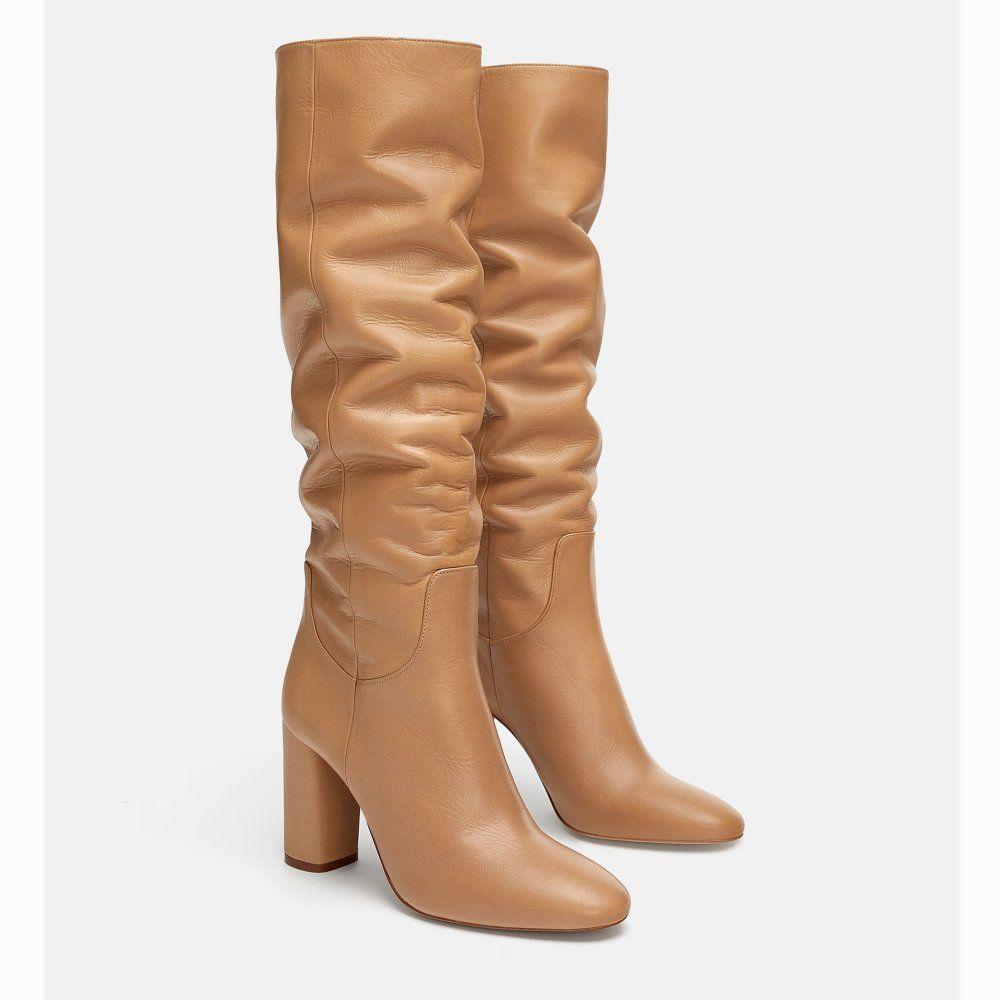 20 paires de chaussures à shopper chez Zara | Talons en cuir
