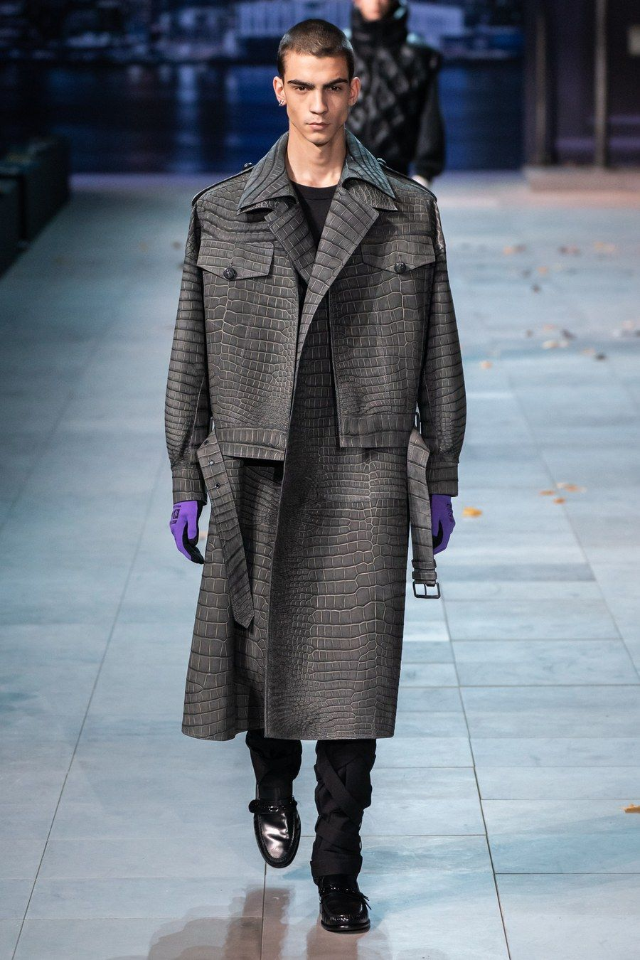 6c4b0b8110d Louis Vuitton Fall 2019 Menswear Fashion Show in 2019 | Fashion ...