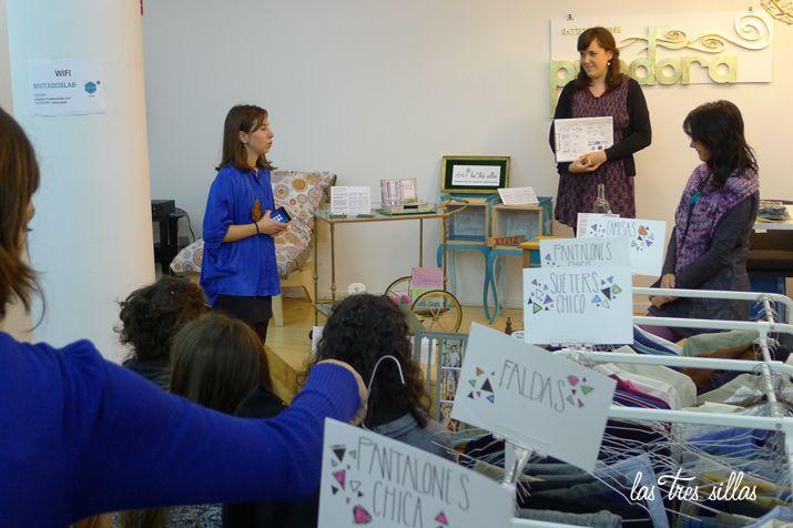 Las Tres Sillas en el 15º intercambio De Armario a Armario en Valencia