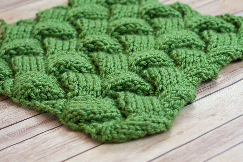 Mini blanket, newborn prop, mini green blanket, knitted basket stuffer blanket, newborn photography, basket stuffer, layering blanket, by thymeline on Etsy