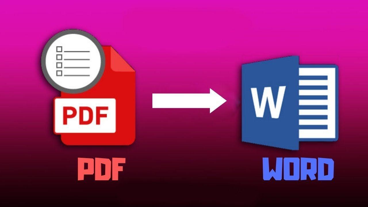 Merubah File Pdf Ke Word Tanpa Aplikasi