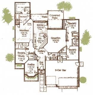 home plans no dining room   Enlarge & Print floor plan   Here I Come ...