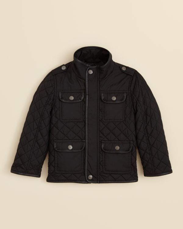 Urban Republic Boys' Quilted Multi Pocket Jacket - Sizes 2T-4T