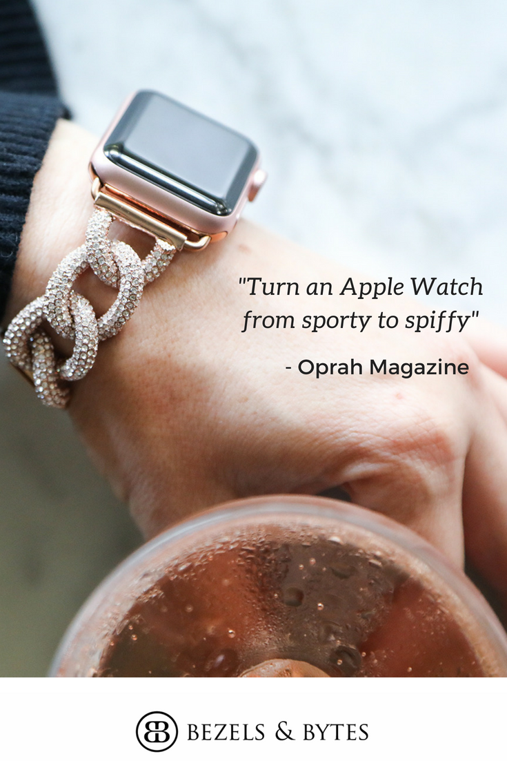 As seen in Oprah Magazine. Dress up your Apple Watch  6705e2a10