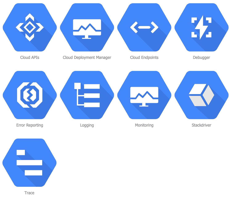 Design Elements Google Cloud Platform Management Tools Cloud Platform Clouds Computer Network