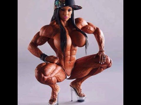 Asian Female Bodybuilding Nude 44