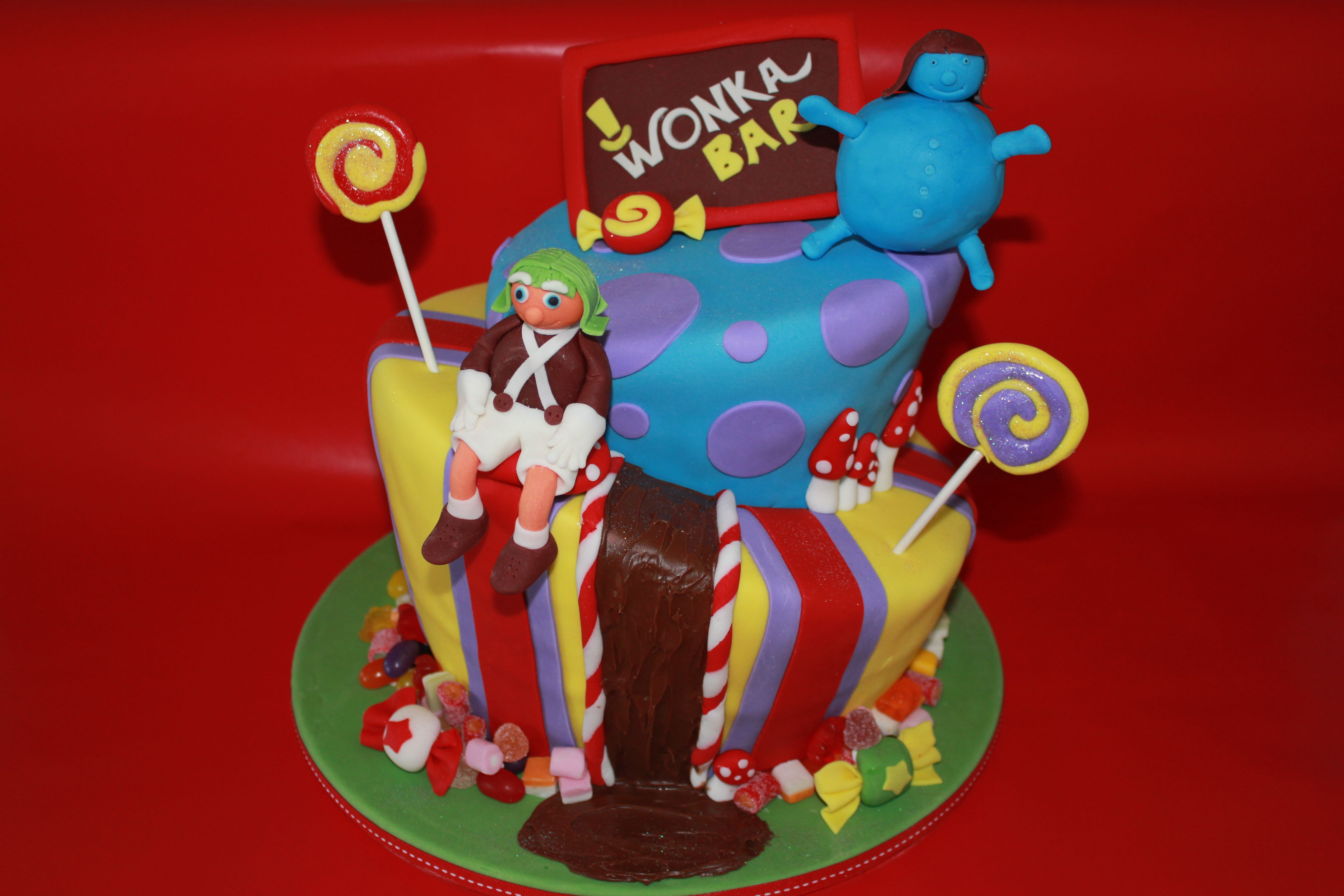 Charlie and the chocolate factory   Crazy cakes, Wonka ...