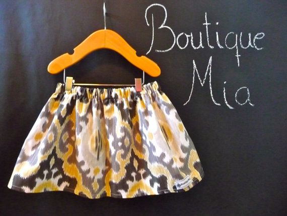 BUY 2 get 1 FREE - Skirt - Maasai Mara - Ikat - Pick the size Newborn up to 12 Years by Boutique Mia. $25.00, via Etsy.