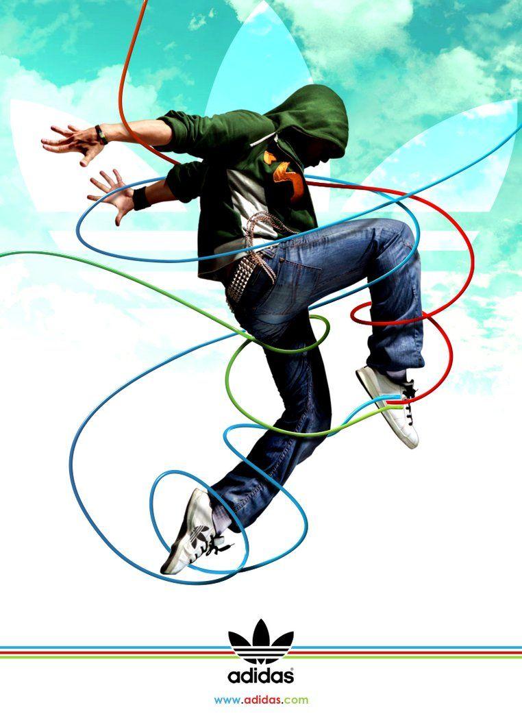Adidas Advertising By Mp Design On Deviantart Adidas Poster Adidas Advertising Adidas Design