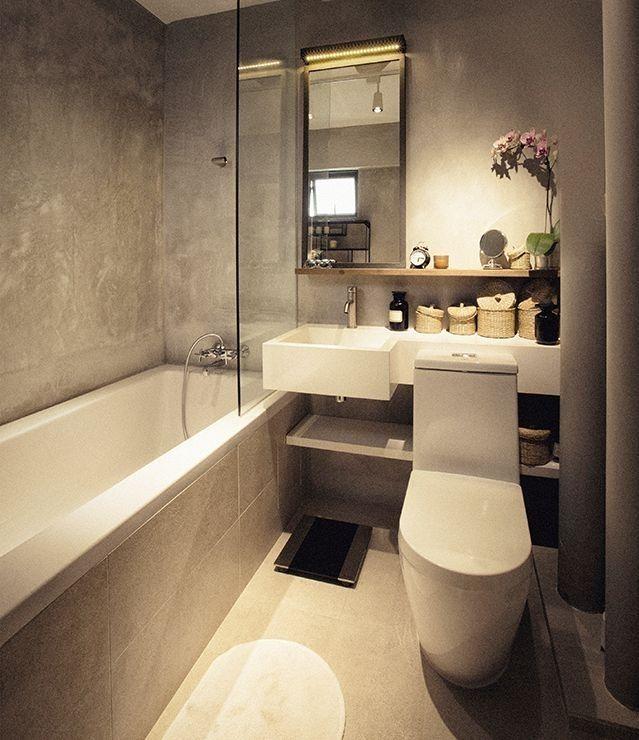 Дизайн ванной комнаты (душевой). 48 фото реальных ...