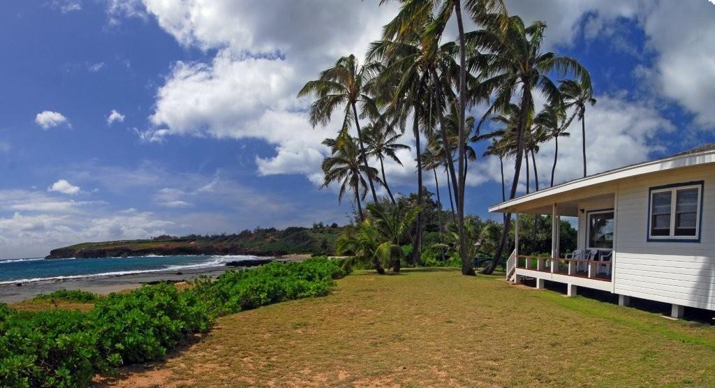 The Beach House Kauai Part - 35: The Only Home In The Entire Expanse Of Mahau0027ulepu Beach On The Sunny South  Shore Of Kauau0027i. Gillin Beach House Fronts A White Sand Swimming Beach.