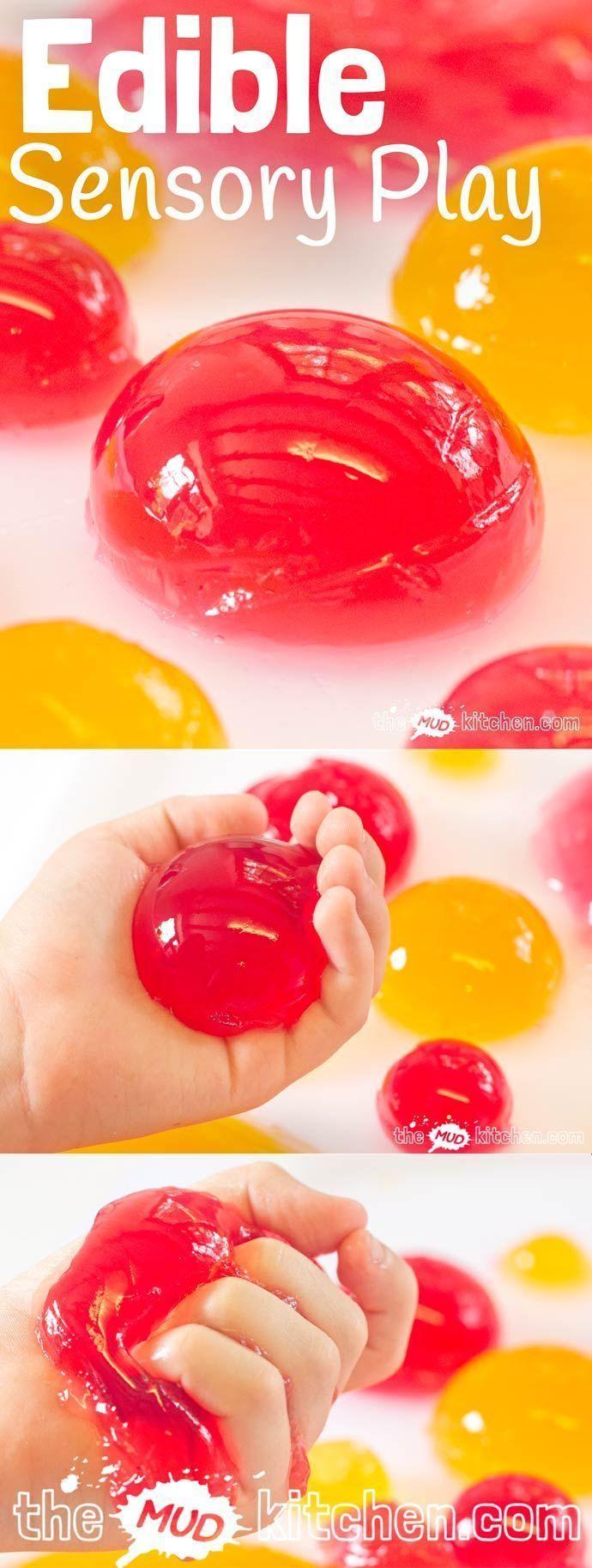 Edible Sensory Play Balls - Kids Craft Room