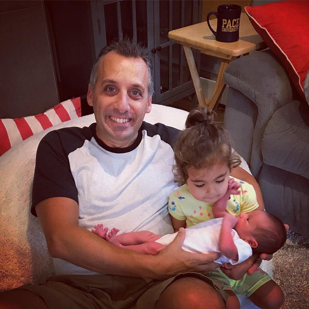 Joe Gatto with daughter Milana