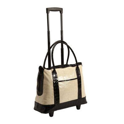 Tote Bag On Wheels Nice Work Bags Ballard Designs