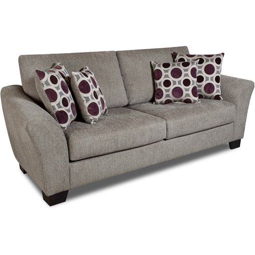 Albany Blair Sofa, Pewter Chenille Walmart $429