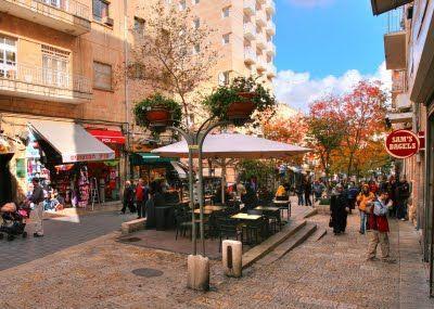 Ben Yehuda Street Jerusalem Israel Jerusalem Israel Today