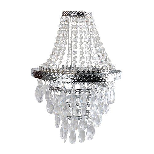 Easy Fit Chandelier Style Ceiling Pendant Light Shade Fitting Modern Lighting