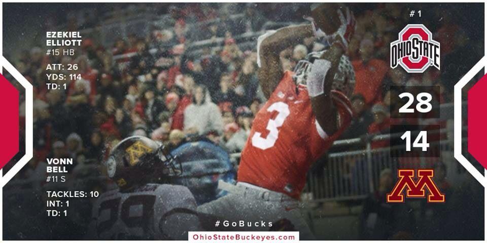 Bucks Win! 11/7/15 | Ohio state buckeyes, The ohio state ...
