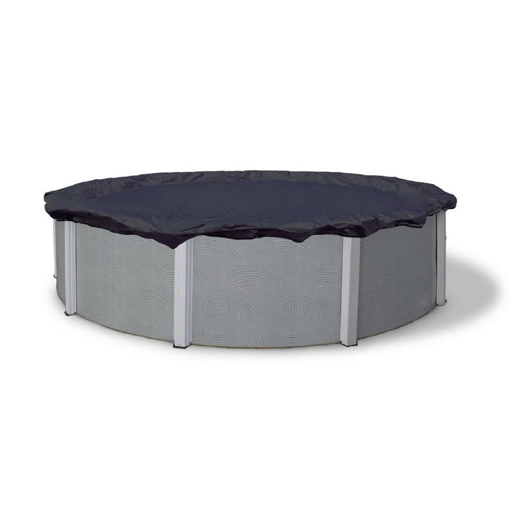 Winter Block Winter Block 8 Year 20x40 Rectangular Blue In Ground Winter Pool Cover Wc2040re The Home Depot Winter Pool Covers Pool Cover Round Above Ground Pool