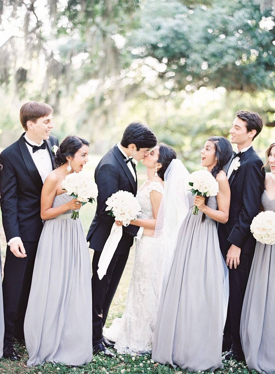 Classic romance in new orleans weddings and wedding classic romance in new orleans lilac grey bridesmaid dresseslavender ombrellifo Choice Image