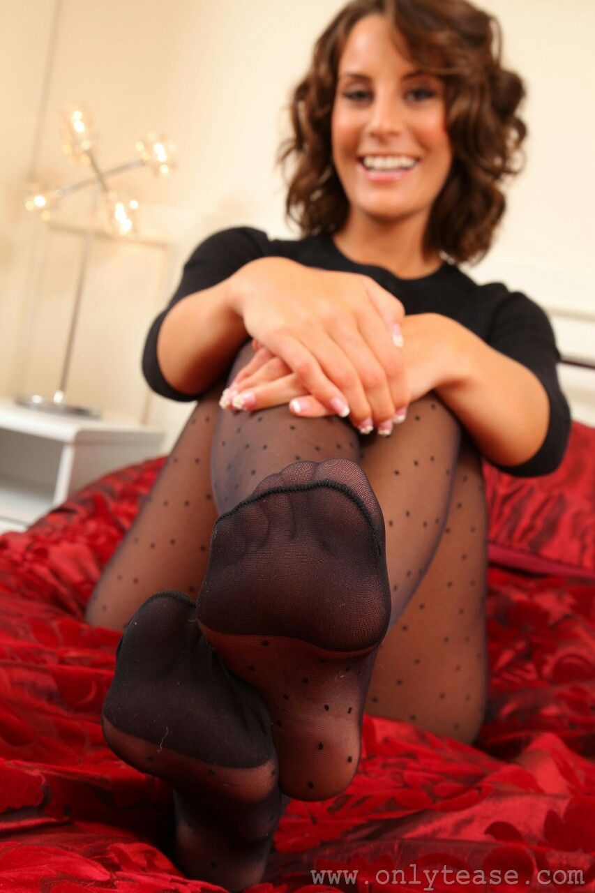 Pinterest pantyhose foot