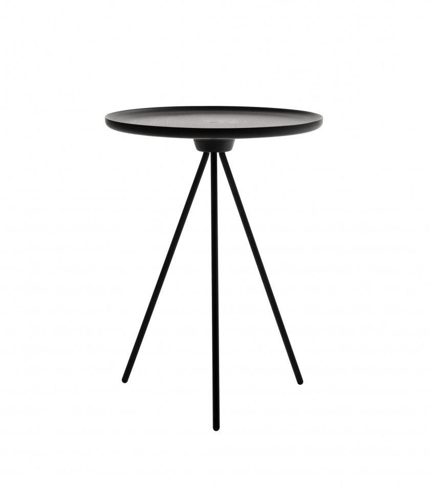 Black side table round - Metal Side Tables For Living Room Design Ideas Rustic Black Round Metal Side