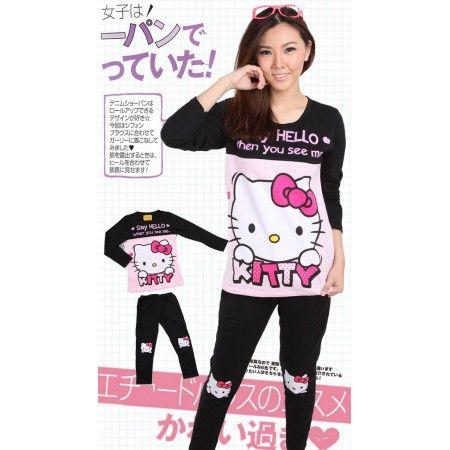 Baju Tidur Hello Kitty
