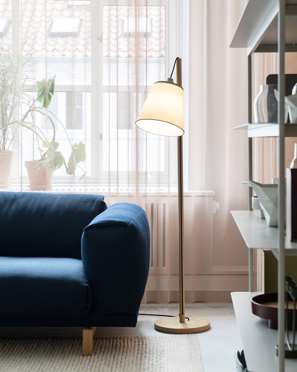 Scandinavian Interior Inspiration From Muuto Taking Cues From Scandinavian Design With Playful App Floor Lamps Living Room Home Decor Living Room Scandinavian