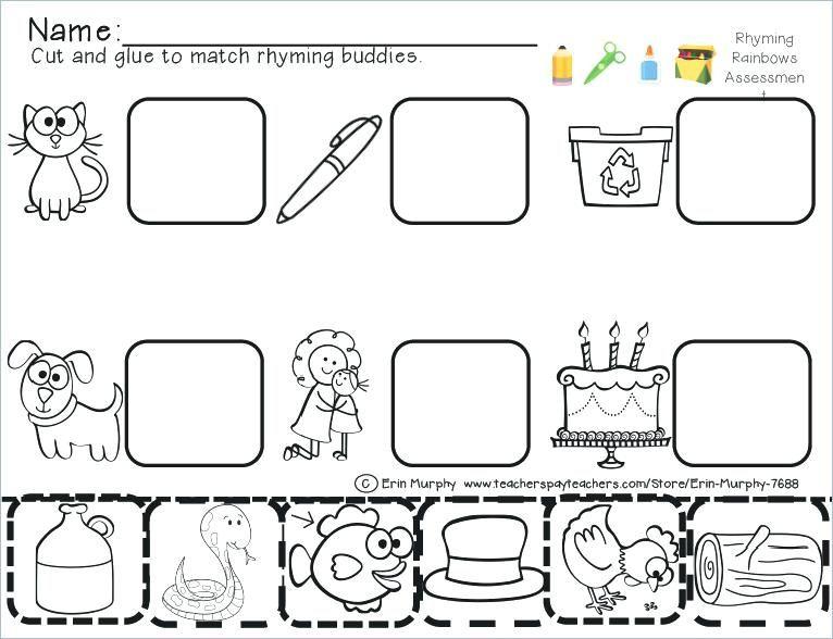 Pin On Classroom Language Arts Cutting worksheets for kindergarten pdf
