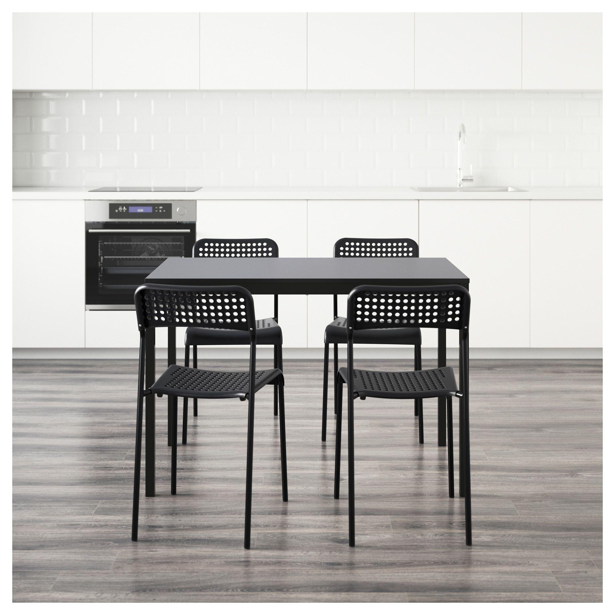 f8462513f4482 IKEA - TÄRENDÖ   ADDE Table and 4 chairs black