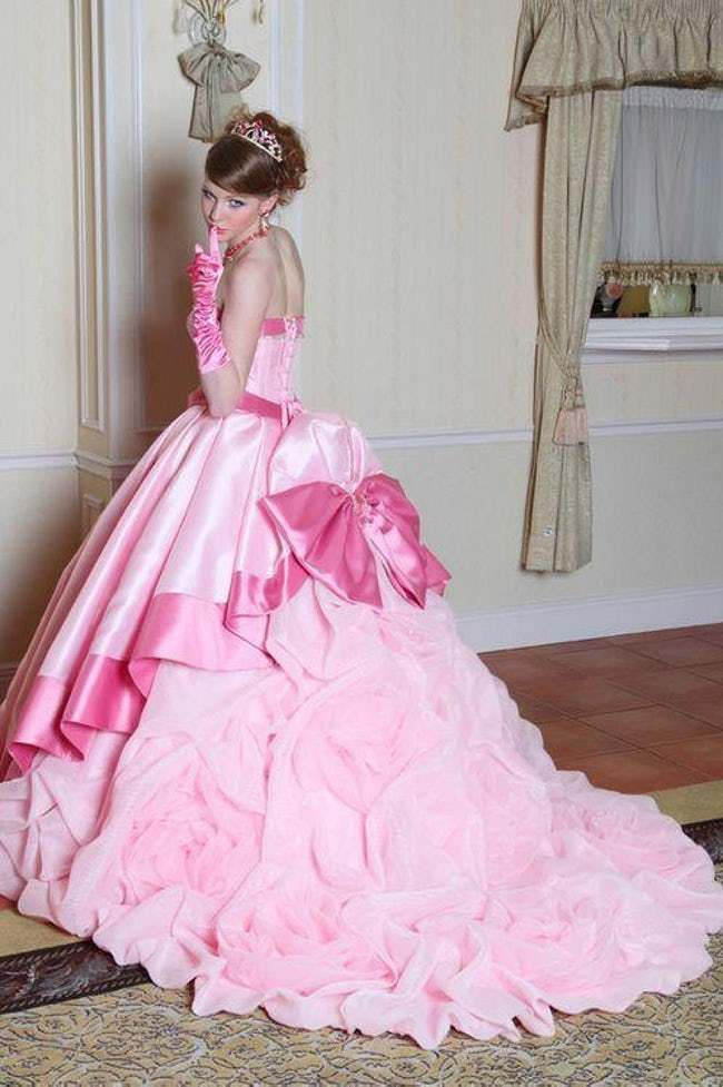 25 Stunning Wedding Dresses Inspired By Your Favorite Disney Characters