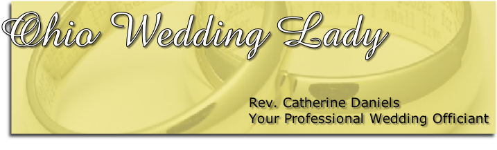 Rev. Catherine Daniels Your Professional Wedding Officiant