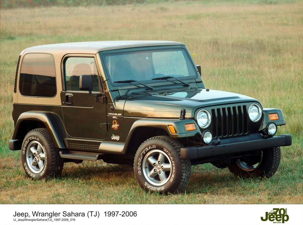 Jeep Wrangler Sahara (19972006) 1997 jeep wrangler