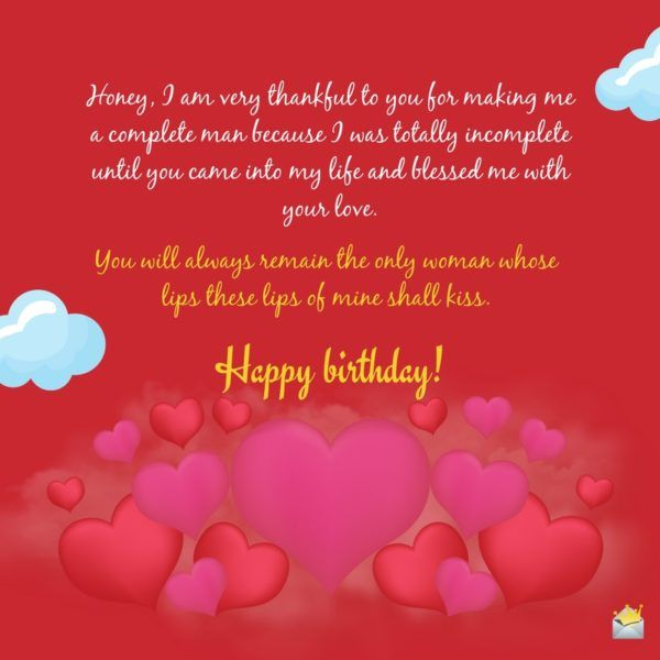 Happy Birthday Love Cute Happy Birthday Quotes Romantic