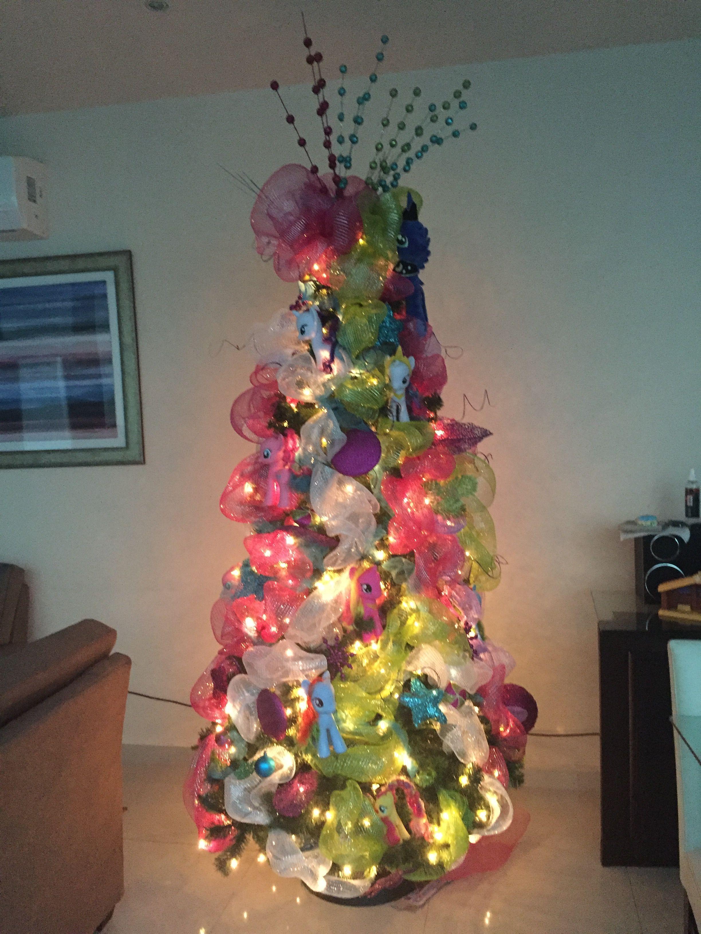 My Little Pony Christmas Tree Cool Christmas Trees Christmas Tree Themes Christmas Tree